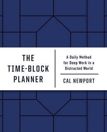Cover image for The Time-Block Planner
