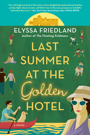 Cover image for Last Summer at the Golden Hotel