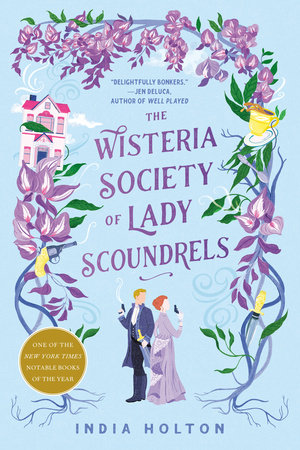 Cover image for The Wisteria Society of Lady Scoundrels