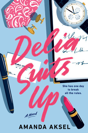 Cover image for Delia Suits Up