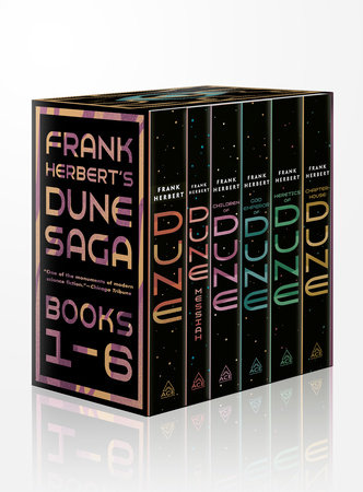 Frank Herbert's Dune Saga 6-Book Boxed Set