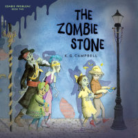 Cover of The Zombie Stone cover