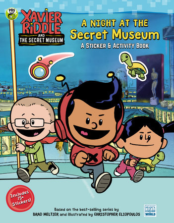 A Night at the Secret Museum: A Sticker & Activity Book