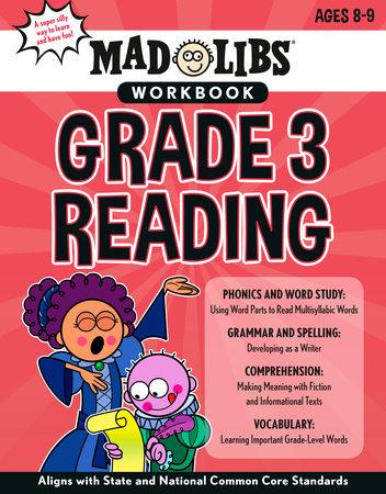 Mad Libs Workbook: Grade 3 Reading