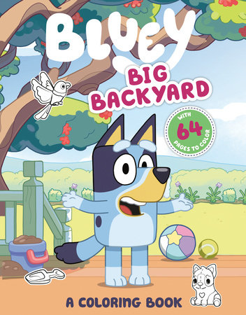 Big Backyard: A Coloring Book