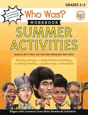 Who Was? Workbook: Summer Activities