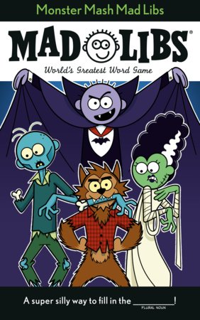 Monster Mash Mad Libs