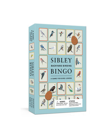 Sibley Backyard Birding Bingo