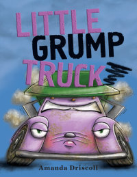Book cover for Little Grump Truck