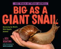 Book cover for Big as a Giant Snail
