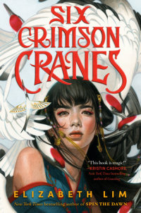 Book cover for Six Crimson Cranes