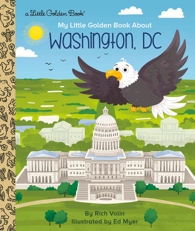 My Little Golden Book about Washington, DC