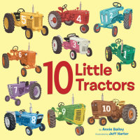 Cover of 10 Little Tractors