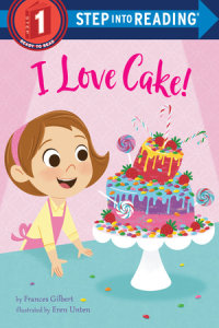 Book cover for I Love Cake!