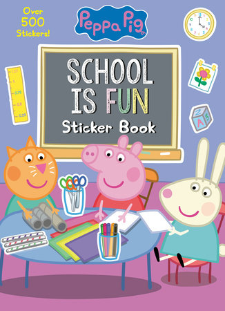 School is Fun Sticker Book (Peppa Pig)