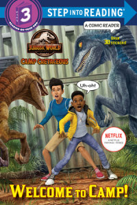 Book cover for Welcome to Camp! (Jurassic World: Camp Cretaceous)