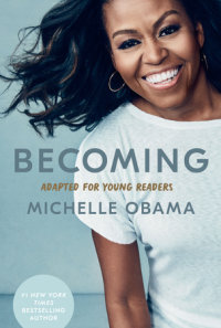 Book cover for Becoming: Adapted for Young Readers