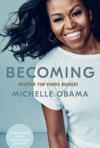Cover of Becoming: Adapted for Young Readers cover