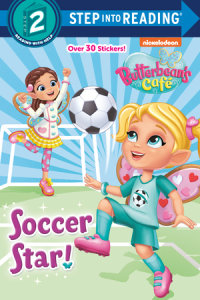 Book cover for Soccer Star! (Butterbean\'s Cafe)