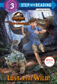 Cover of Lost in the Wild! (Jurassic World: Camp Cretaceous) cover