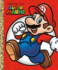 Book cover for Super Mario Little Golden Book (Nintendo)