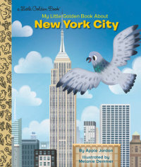 Book cover for My Little Golden Book About New York City
