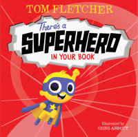 Book cover for There\'s a Superhero in Your Book