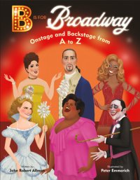 Book cover for B Is for Broadway