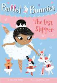 Book cover for Ballet Bunnies #4: The Lost Slipper