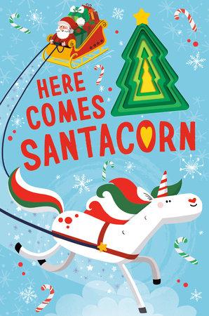 Here Comes Santacorn
