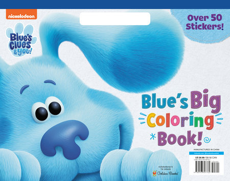 Blue's Big Coloring Book (Blue's Clues & You)