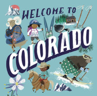 Book cover for Welcome to Colorado (Welcome To)