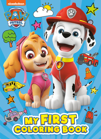 PAW Patrol: My First Coloring Book (PAW Patrol)