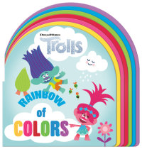 Book cover for Rainbow of Colors (DreamWorks Trolls)