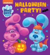 Book cover for Halloween Party! (Blue\'s Clues & You)