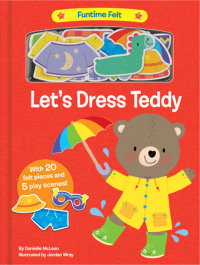 Book cover for Let\'s Dress Teddy