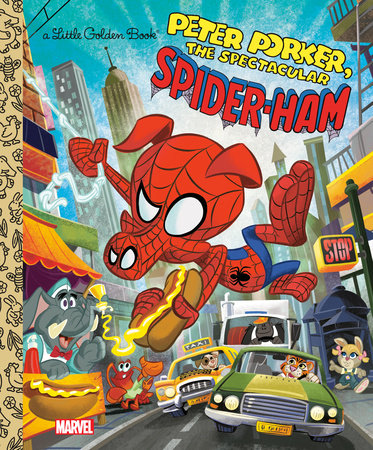 Spider-Ham Little Golden Book (Marvel Spider-Man)