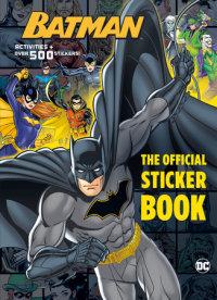 Book cover for Batman: The Official Sticker Book (DC Batman)