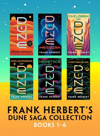Frank Herbert's Dune Saga Collection: Books 1 - 6