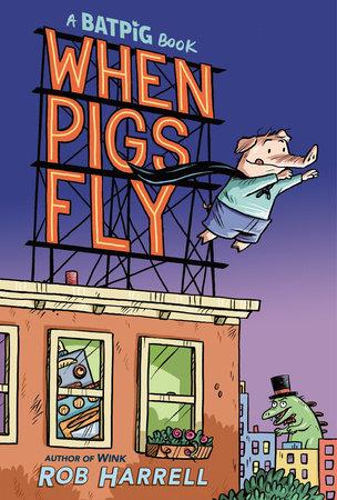 Batpig: This Little Piggy Wears a Cape