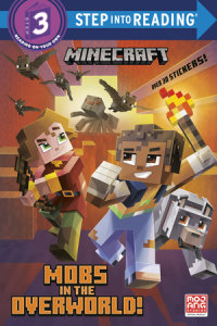 Book cover for Mobs in the Overworld! (Minecraft)