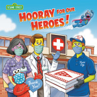 Book cover for Hooray for Our Heroes! (Sesame Street)