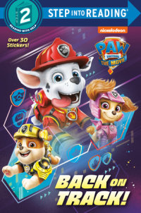 Book cover for PAW Patrol: The Movie: Back on Track! (PAW Patrol)