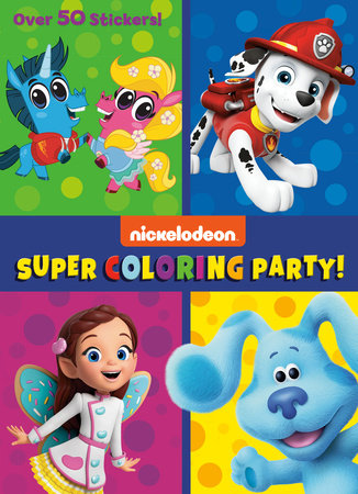Super Coloring Party! (Nickelodeon)