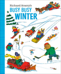 Book cover for Richard Scarry\'s Busy Busy Winter