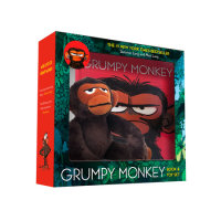 Book cover for Grumpy Monkey Book and Toy Set