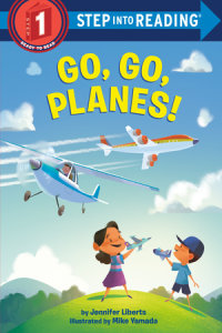 Cover of Go, Go, Planes! cover