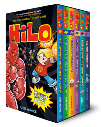 Book cover for Hilo: The Great Big Box (Books 1-6)