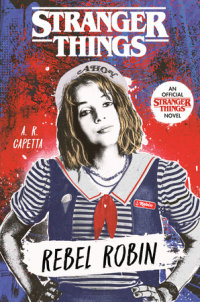 Book cover for Stranger Things: Rebel Robin