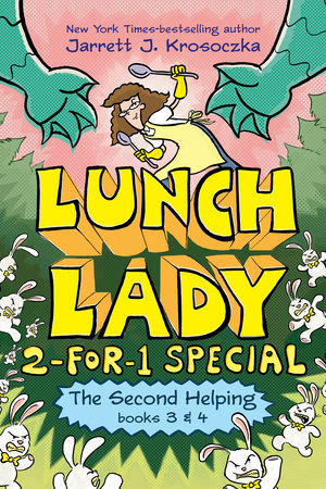 The Second Helping (Lunch Lady Books 3 & 4)